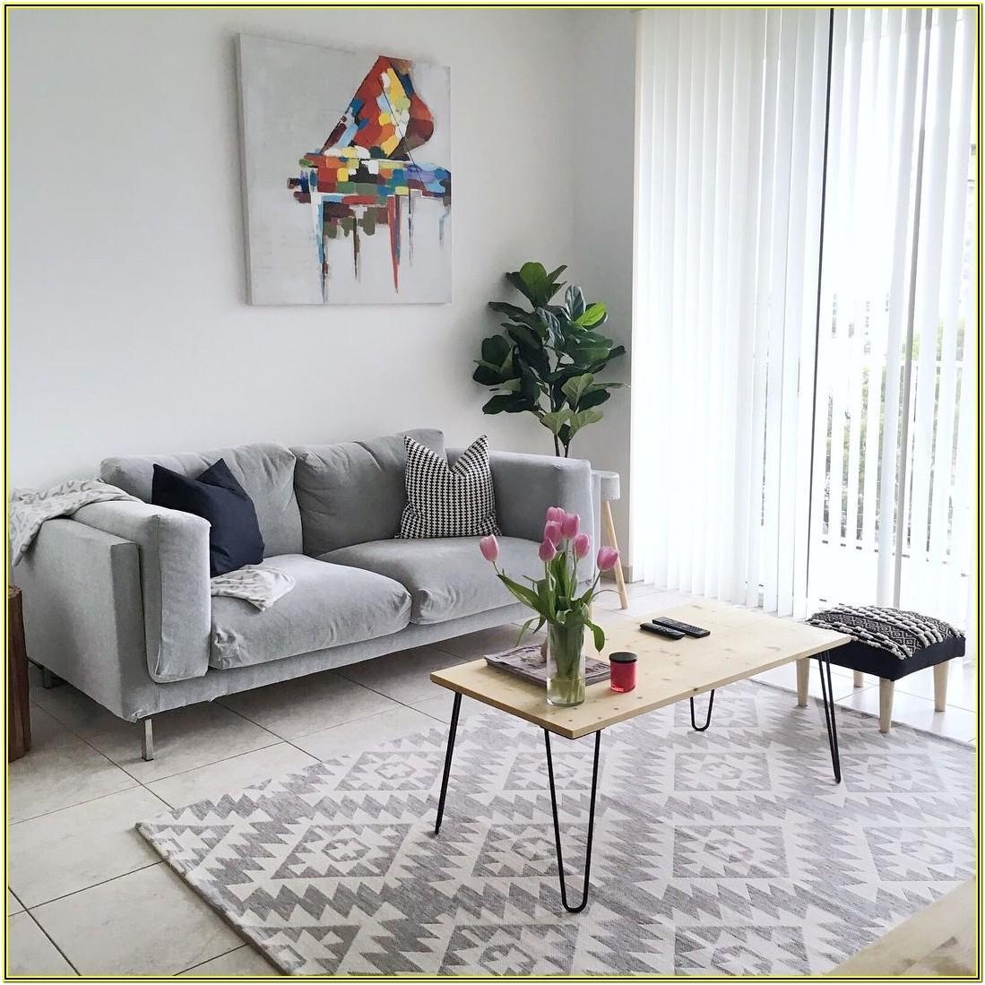 Minimalist White And Grey Living Room Ideas