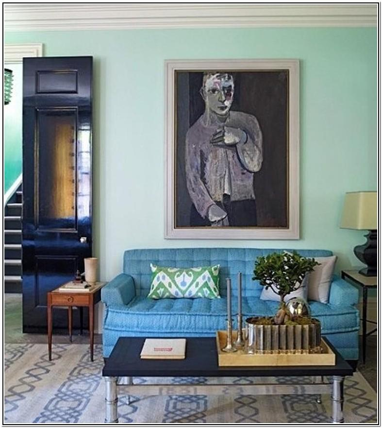 Mint Blue Living Room Ideas