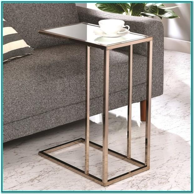 Mirror Side Table Living Room