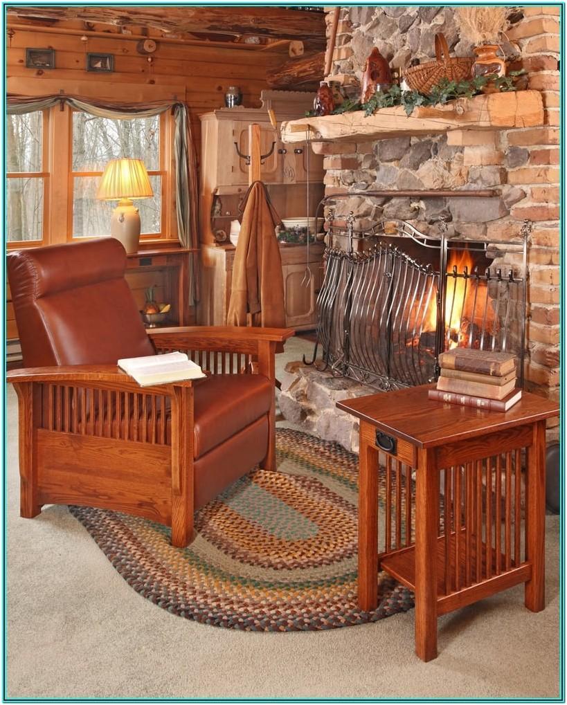Mission Style Living Room Furniture Set