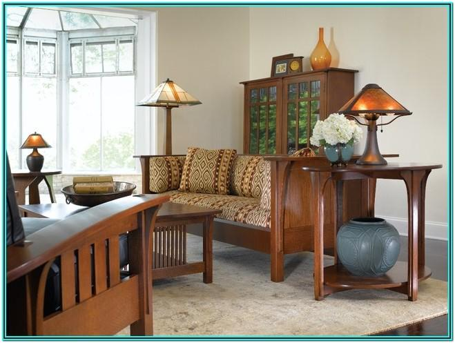 Mission Style Living Room Tables