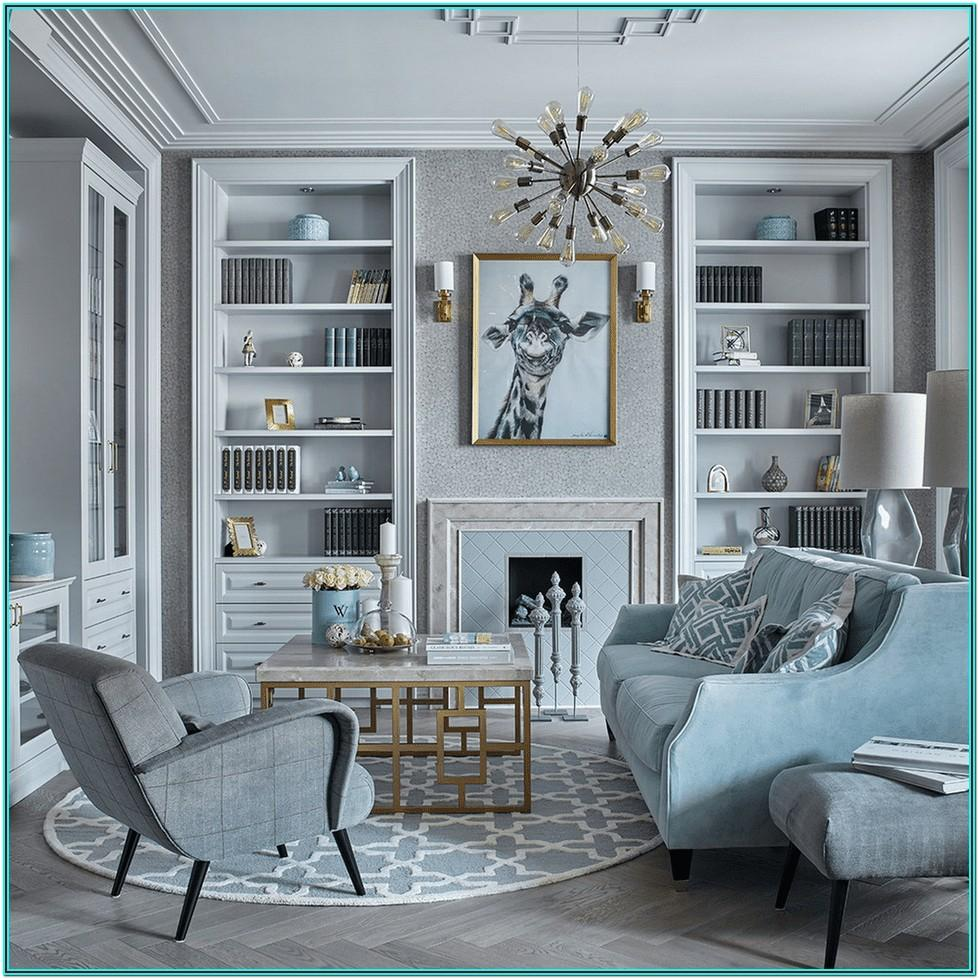 Mixing Modern And Traditional Living Room