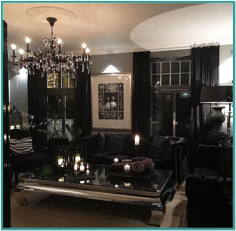 Modern Black Furniture Living Room