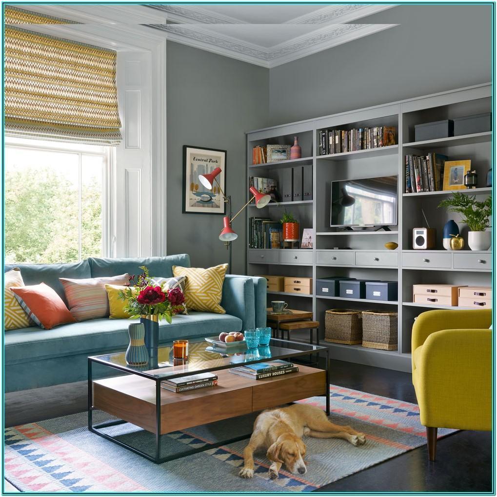 Modern Blue Sofa Living Room Ideas