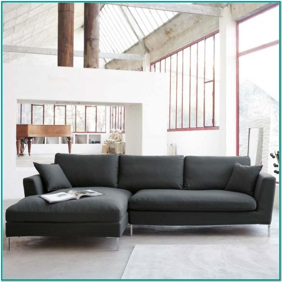 Modern Dark Gray Couch Living Room
