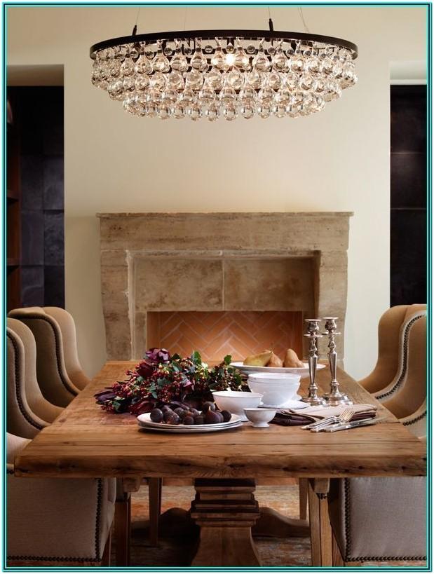 Modern Farmhouse Living Room Chandelier