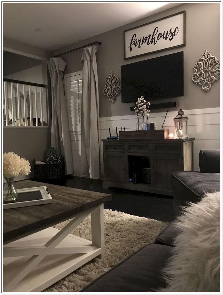 Modern Farmhouse Living Room Ideas Pinterest