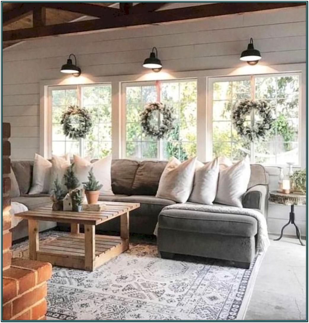 Modern Farmhouse Style Living Room Ideas