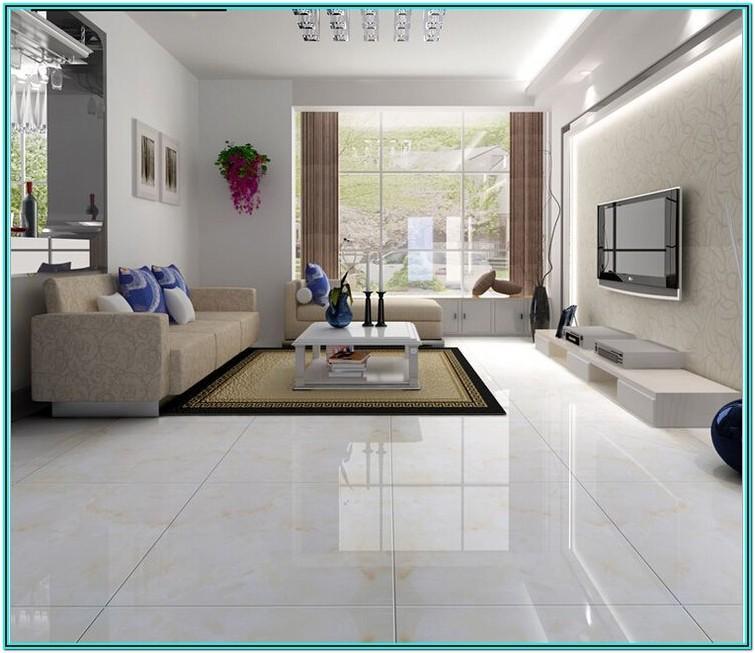 Modern Floor Tiles Living Room Design