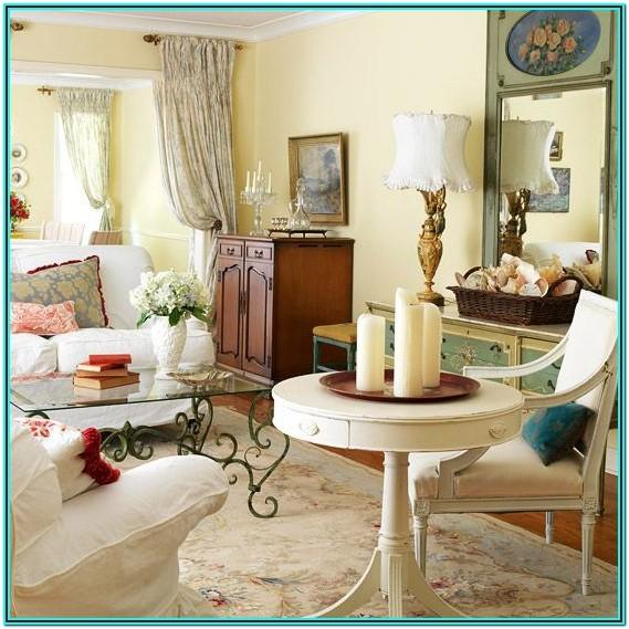 Modern French Country Living Room Ideas