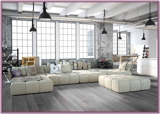 Modern Gray Carpet Living Room