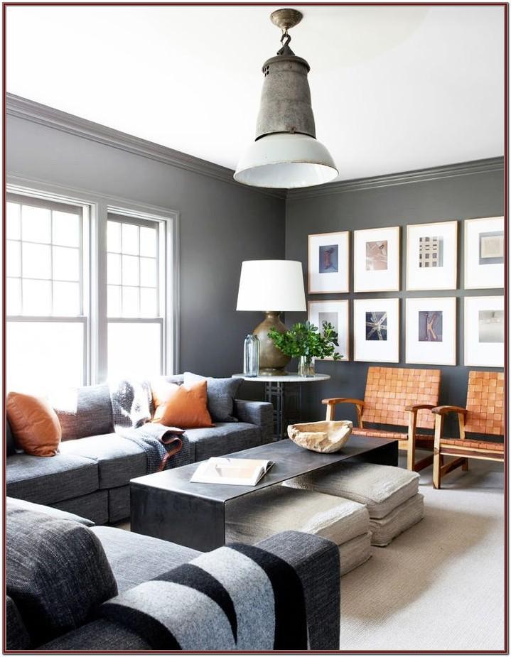 Modern Grey Sofa Living Room Decor