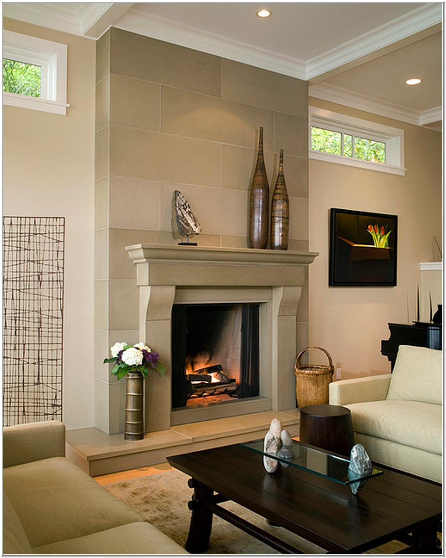 Modern Living Room Fireplace Design Ideas
