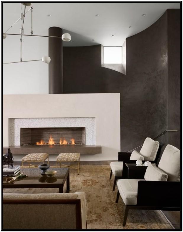 Modern Living Room Fireplace Wall Ideas