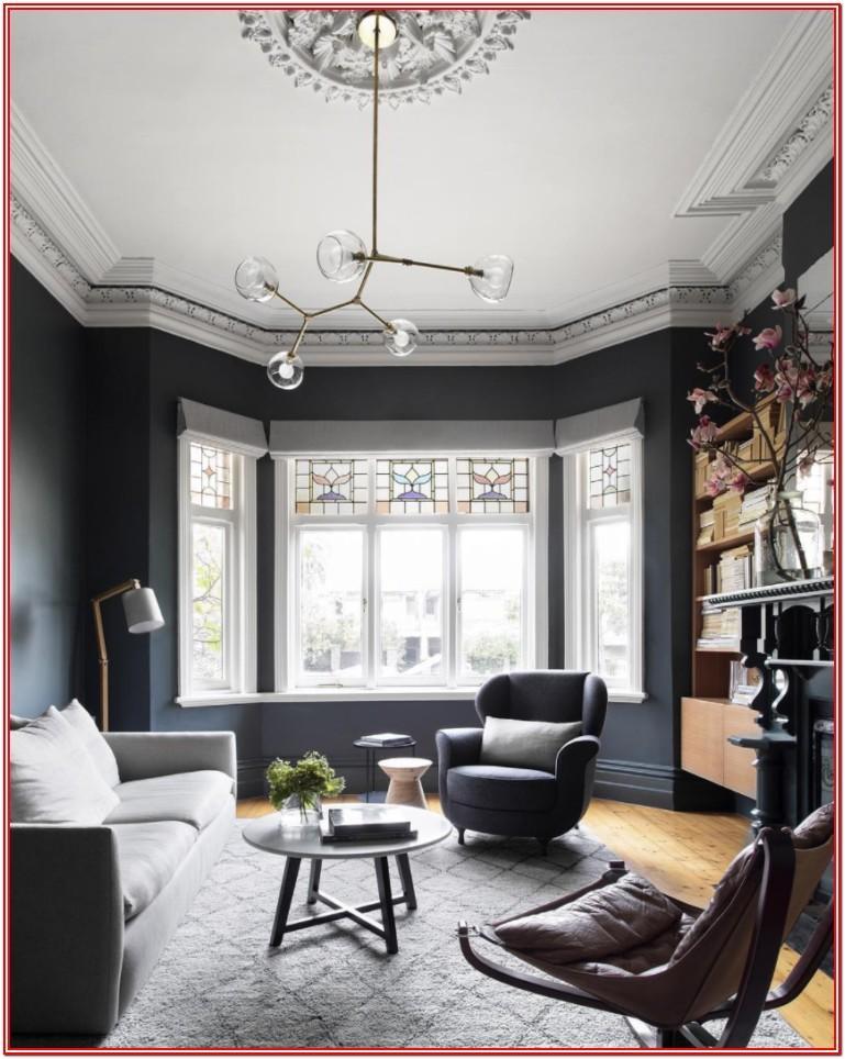 Modern Living Room Ideas Grey Walls