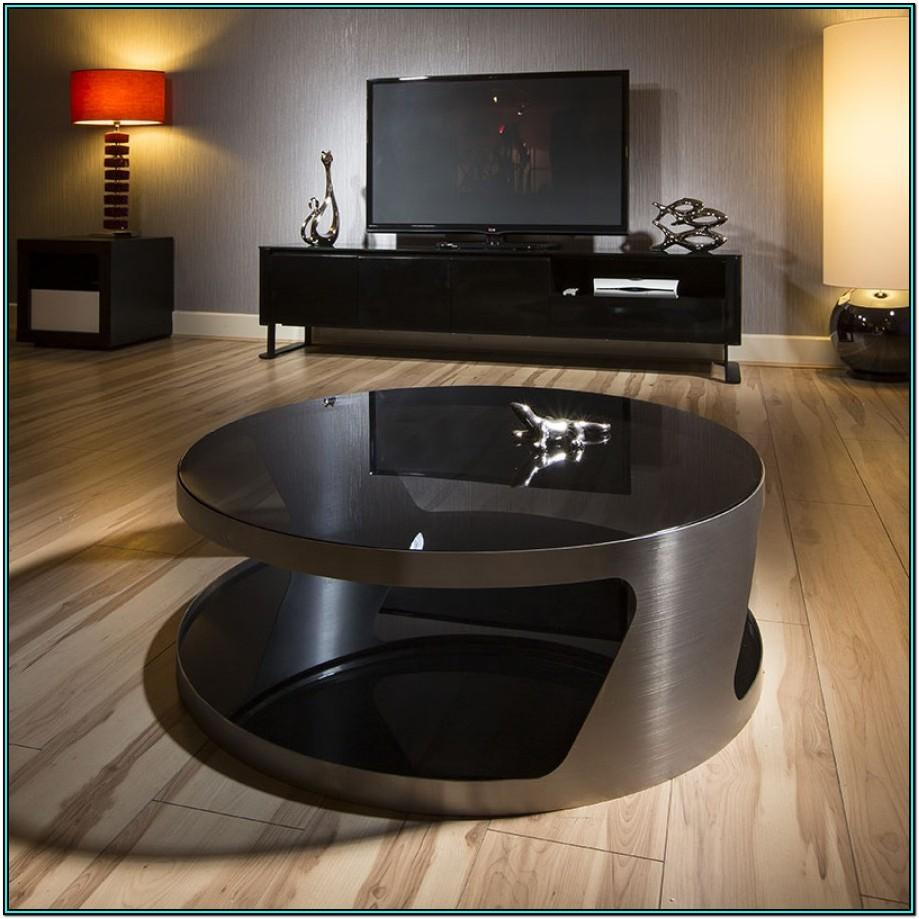 Modern Living Room Round Coffee Table