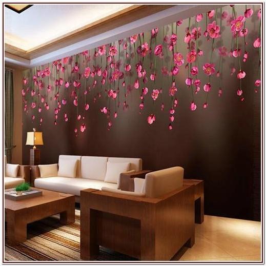 Modern Luxury Living Room Wallpaper