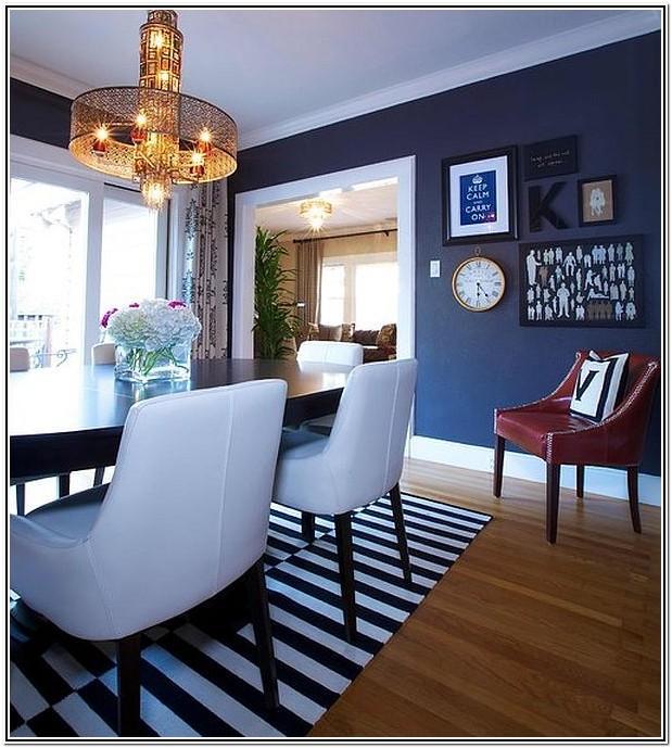 Modern Navy Blue Living Room Ideas