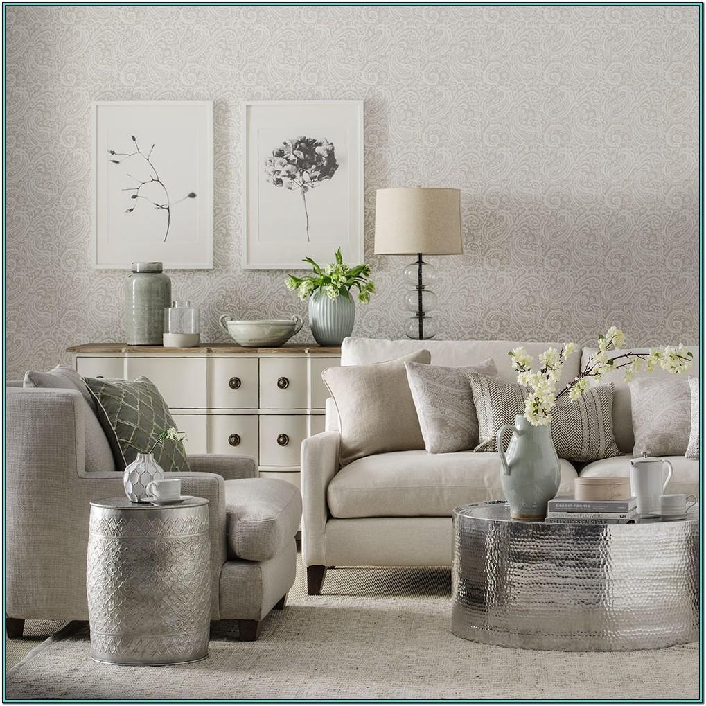 Modern Silver Grey Living Room Ideas