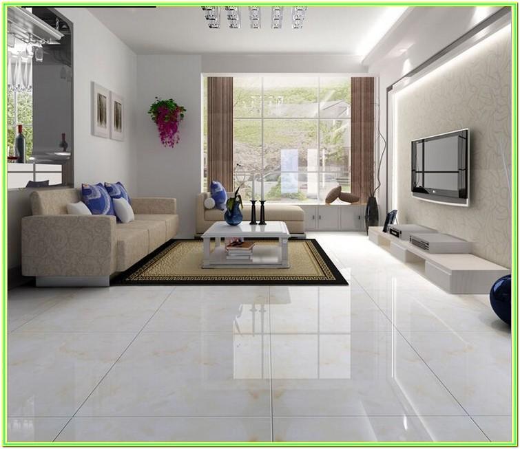 Modern Style Small Living Room Floor Tiles Design