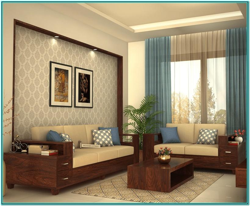 Modern Wooden Couch Designs For Living Room