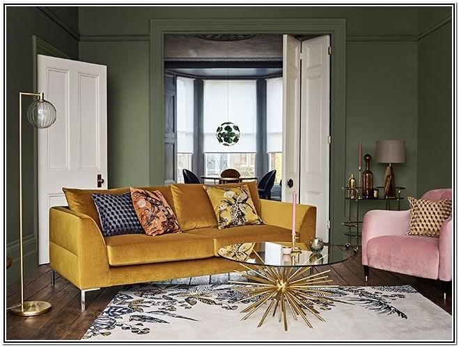 Mustard Sofa Living Room Ideas