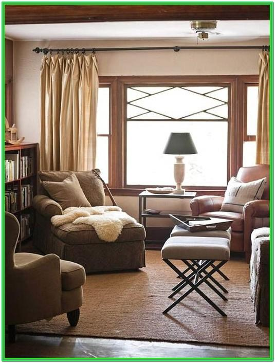 Neutral Living Room Wall Colors With Brown Furniture