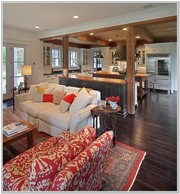 Open Concept Kitchen And Living Room Design Ideas