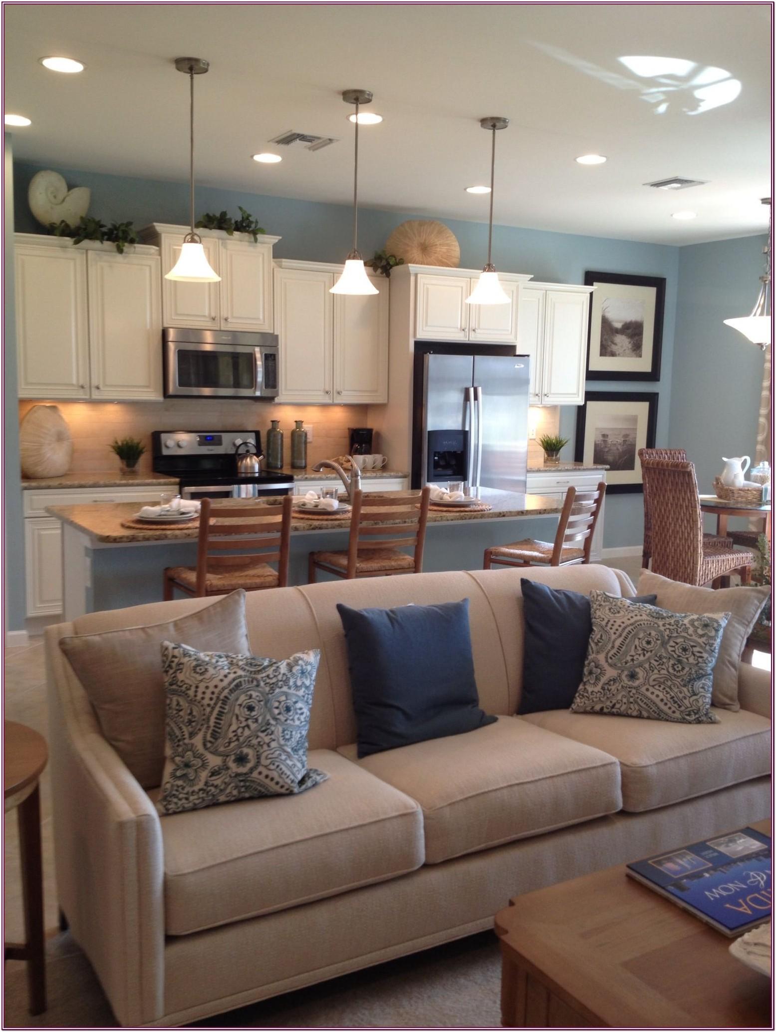 Open Concept Kitchen Living Room Colors