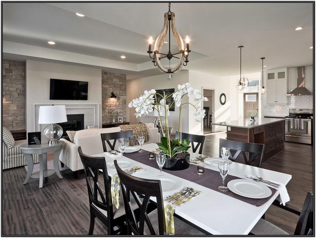 Open Floor Plan Living Room Ideas