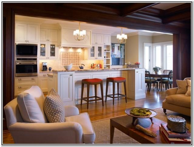 Open Kitchen Into Living Room Ideas
