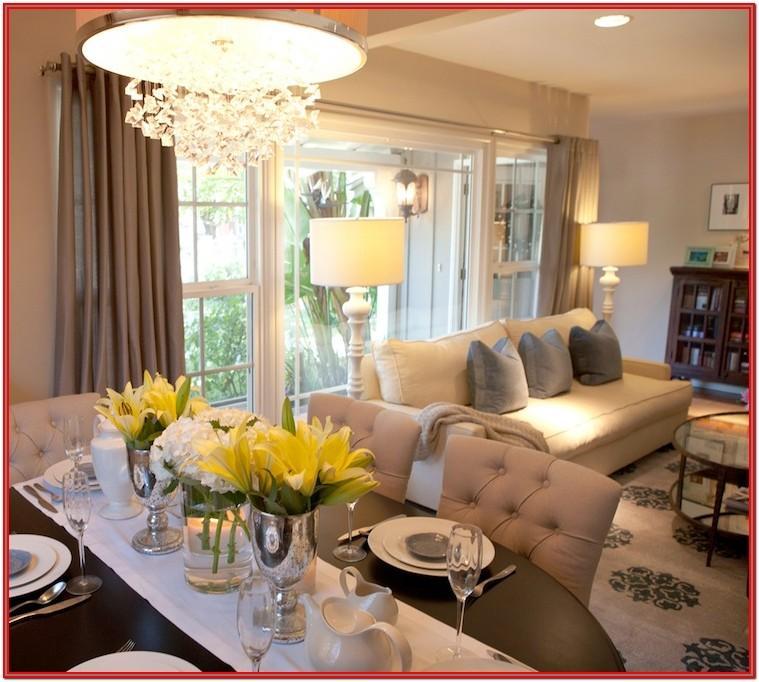 Open Living Room Dining Room Ideas