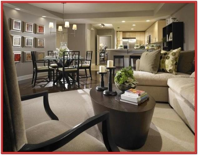 Open Space Living Room And Dining Room Ideas