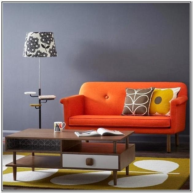 Orange Couch Living Room Ideas