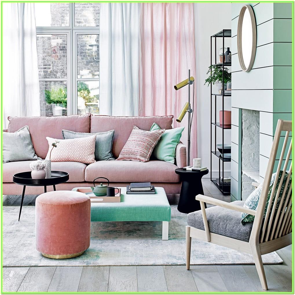 Pastel Colors Combination For Living Room
