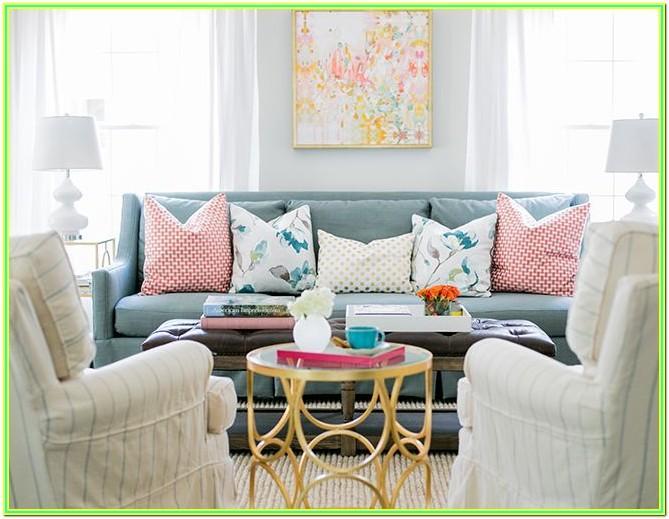 Pastel Colors Living Room Ideas