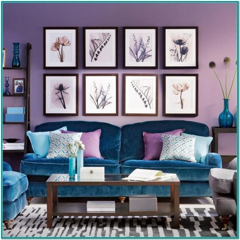Purple And Blue Living Room Ideas