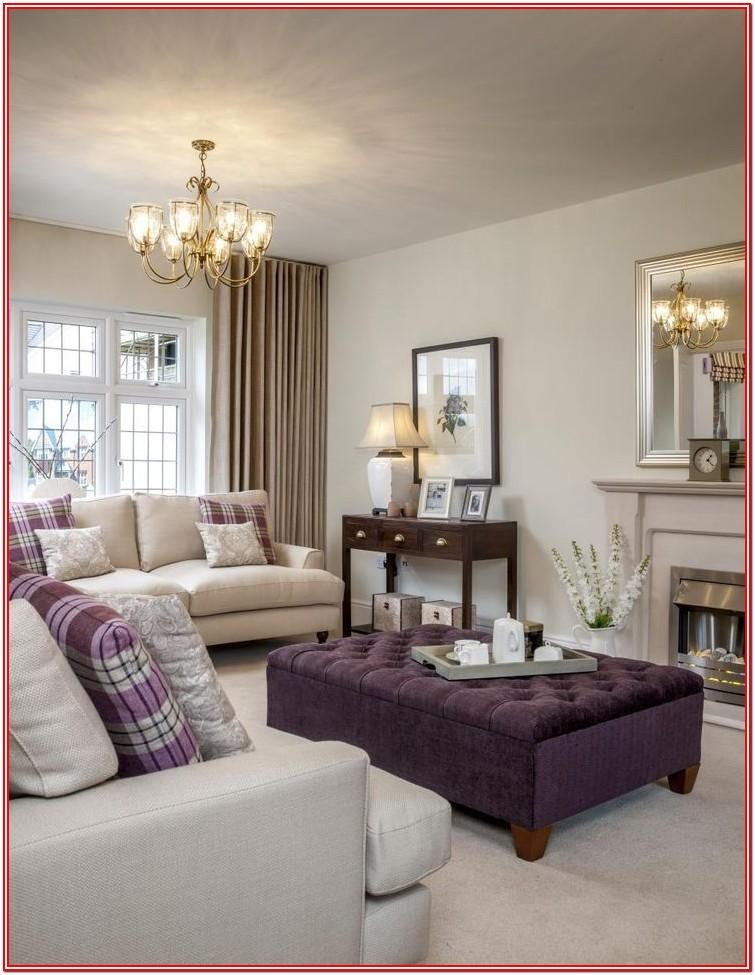 Purple And Gold Living Room Ideas