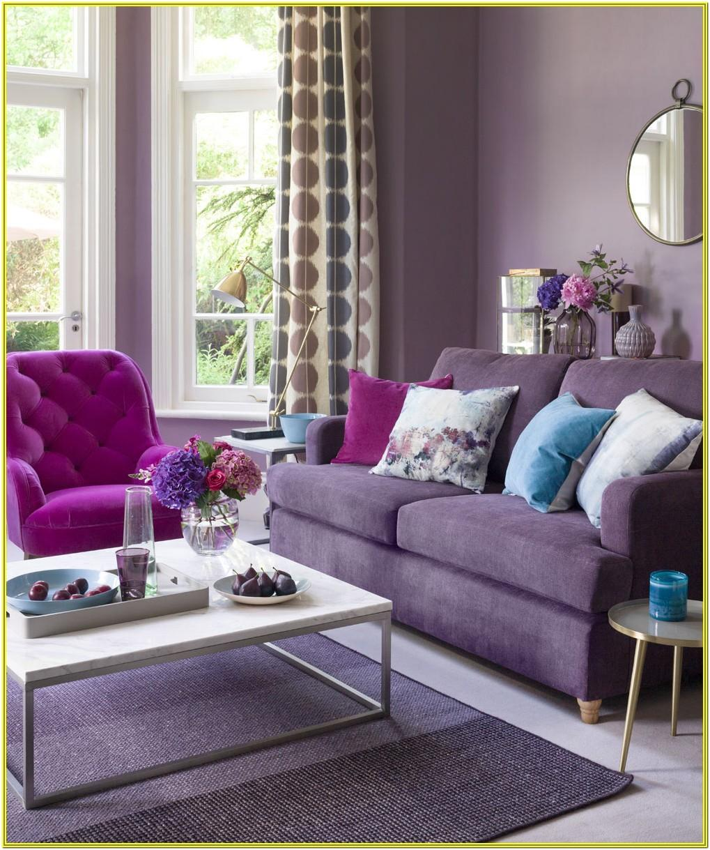 Purple Black And Silver Living Room Ideas