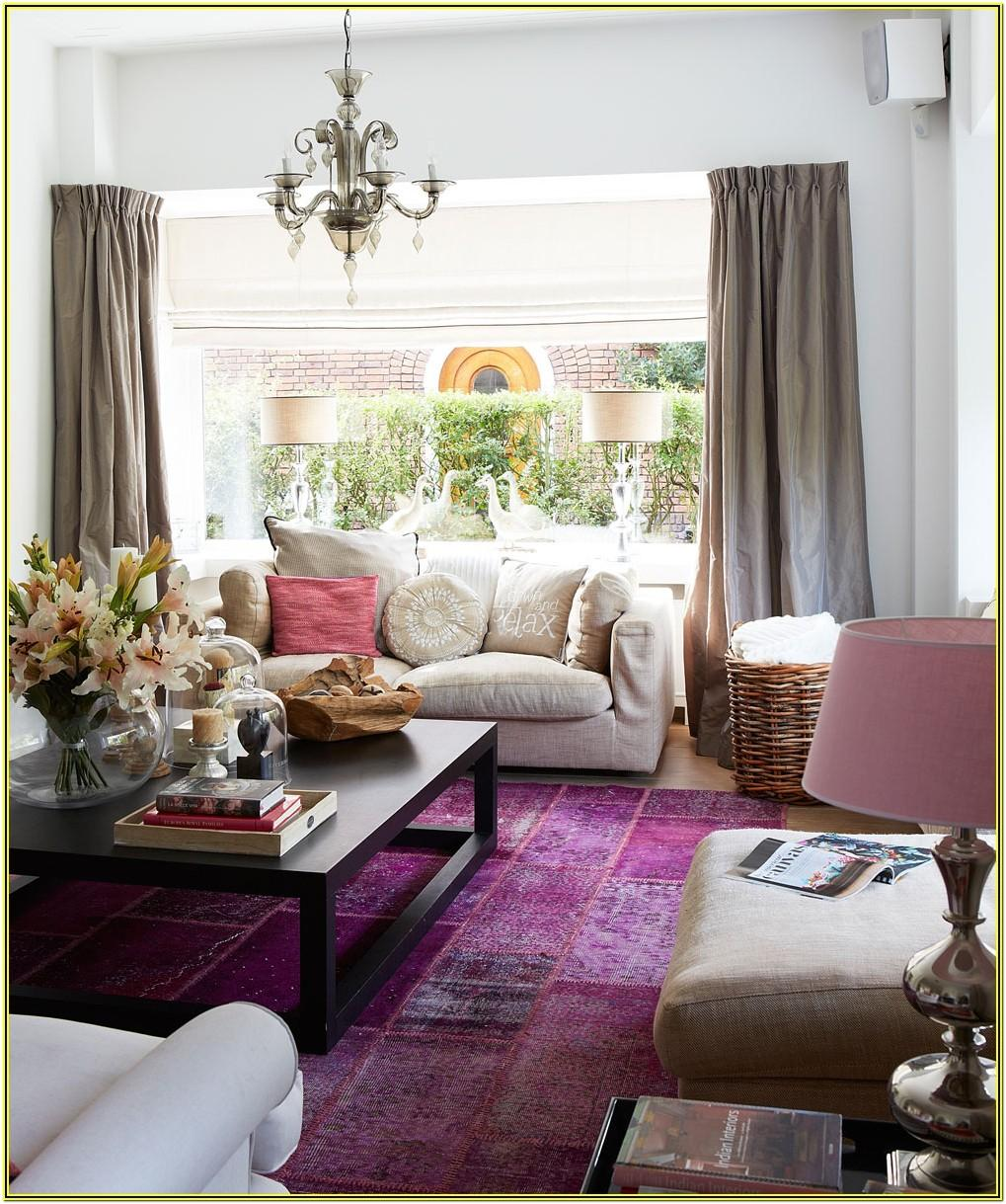 Purple White And Silver Living Room Ideas