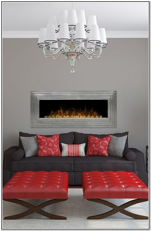 Rectangle Living Room Ideas With Sectionals And Fireplace