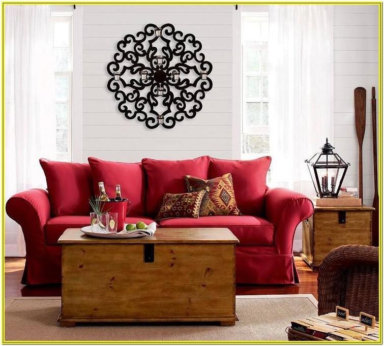 Red Black Living Room Decorating Ideas