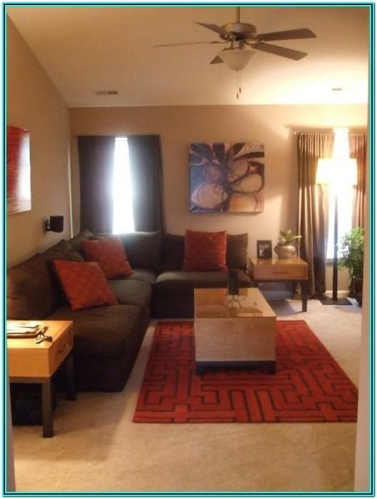 Red Brown And Green Living Room Ideas