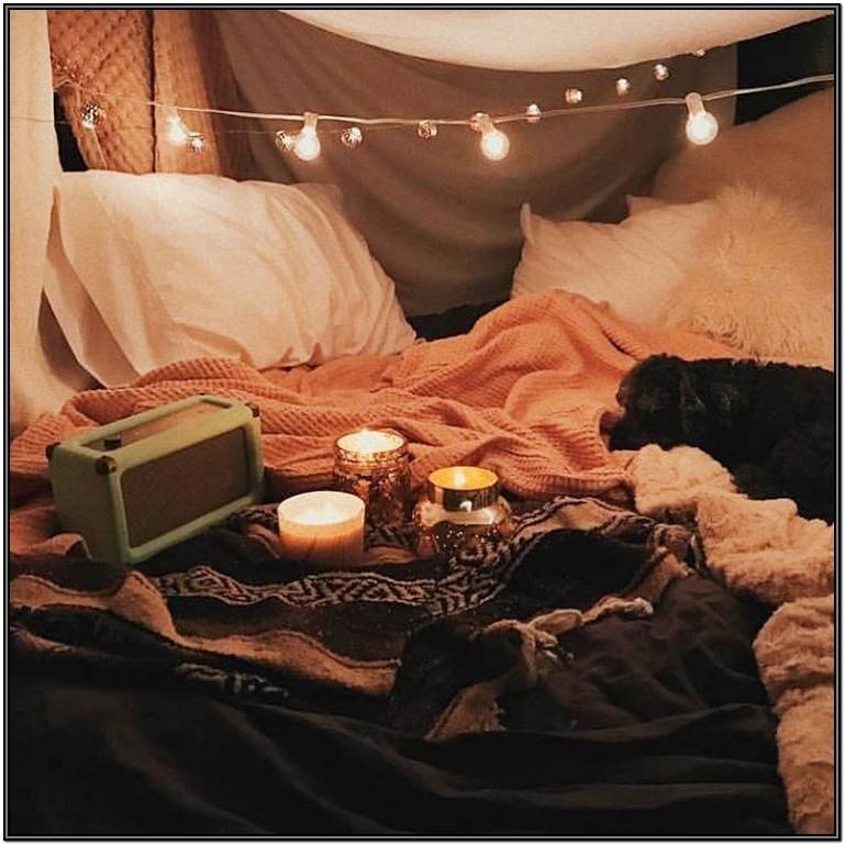 Romantic Living Room Fort Ideas