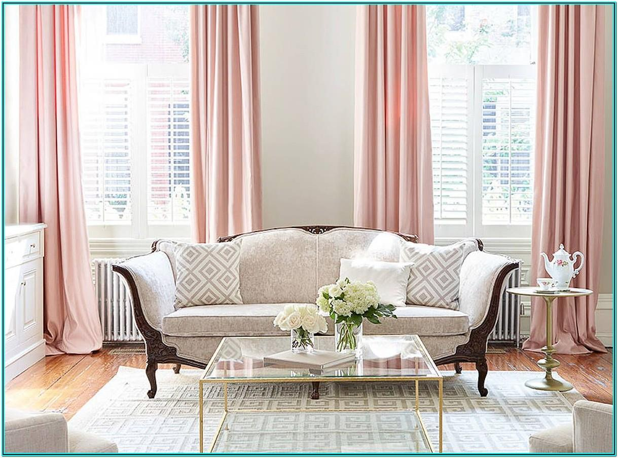 Rose Gold And Black Living Room Ideas