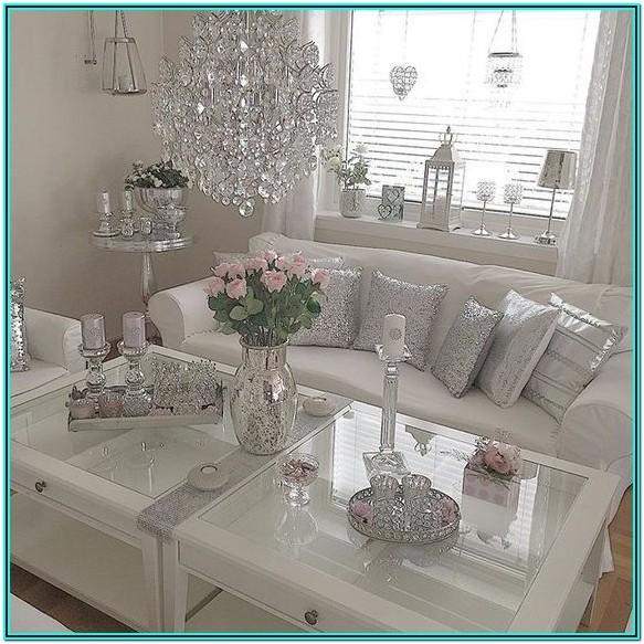 Rose Gold And Silver Living Room Ideas