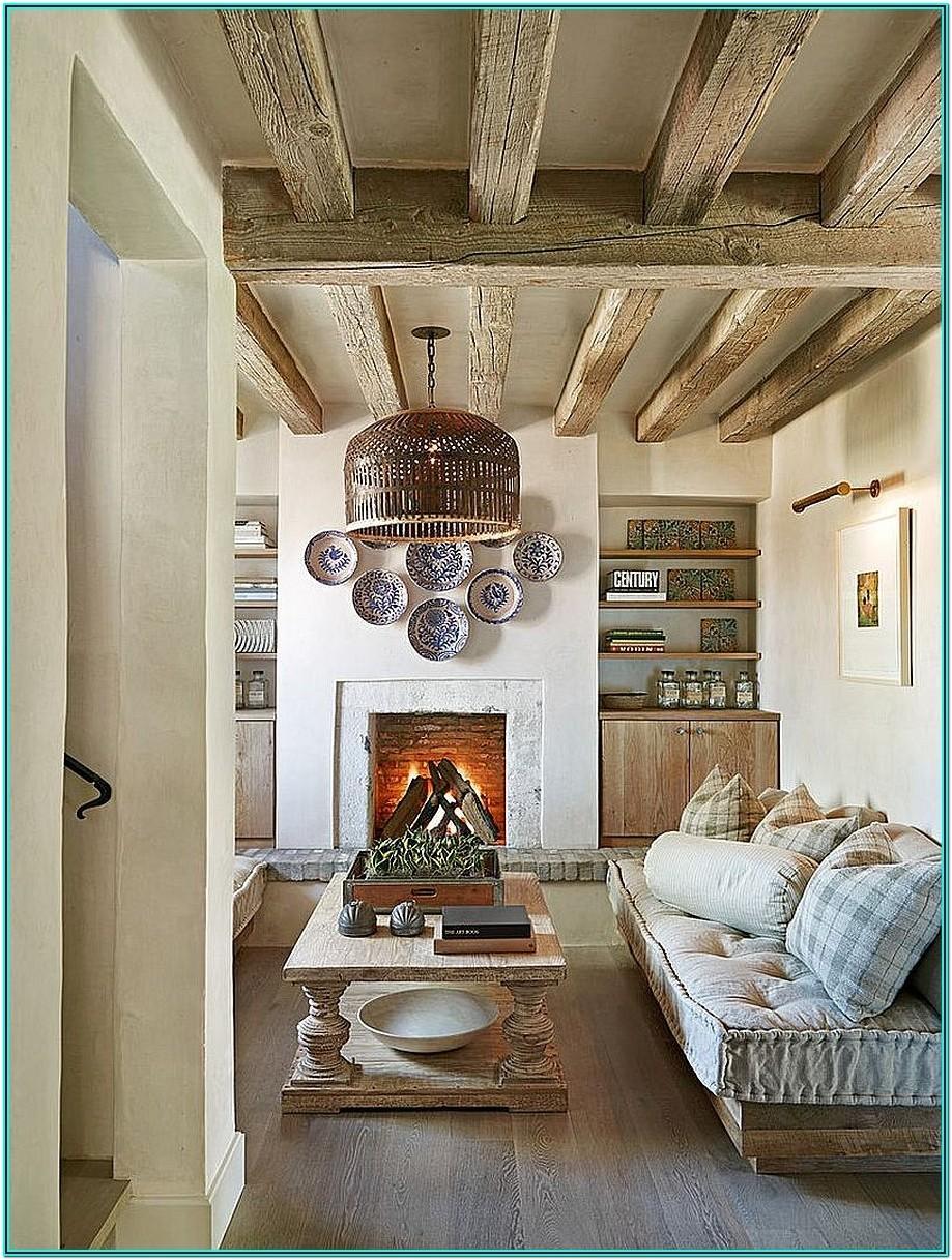 Rustic Chic Rustic Living Room Curtain Ideas
