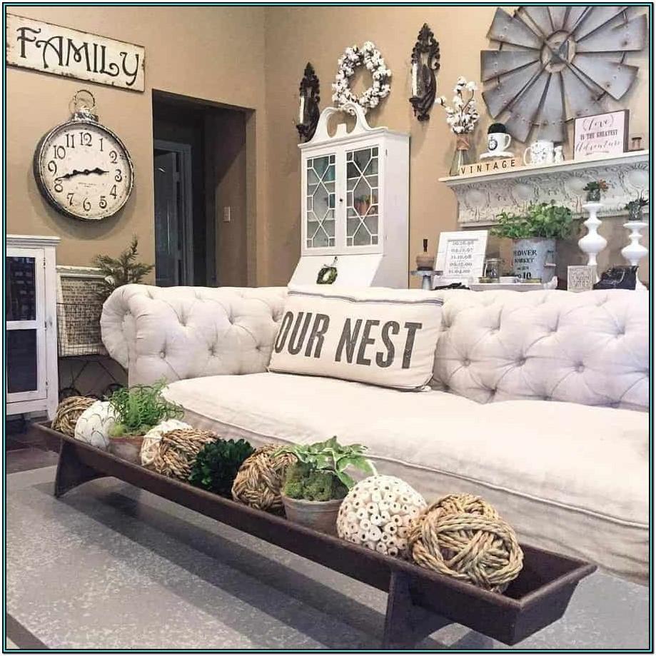 Rustic Farmhouse Farmhouse Living Room Ideas