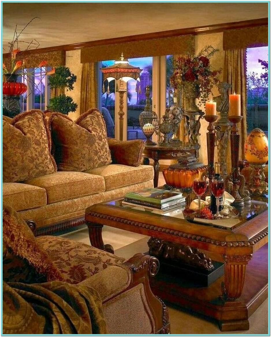 Rustic Italian Living Room Ideas