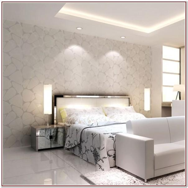 Silver Luxury Wallpaper For Living Room